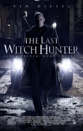 THE LAST WITCH HUNTER, US poster, Vin Diesel, 2015. ©Summit Entertainment
