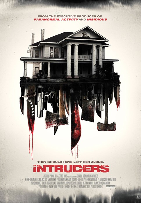 INTRUDERS, (aka SHUT IN), poster, 2015. ©Phase 4 Films