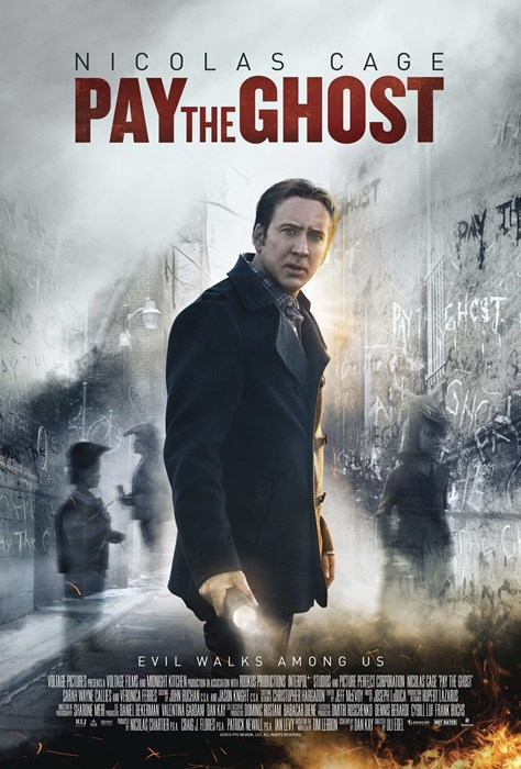 PAY THE GHOST, US poster art, Nicolas Cage, 2015. © RLJ Entertainment