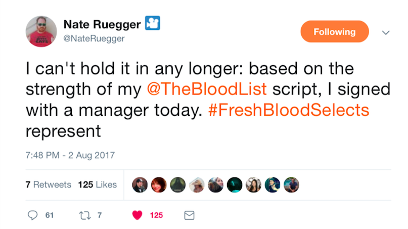 Fresh Blood Success