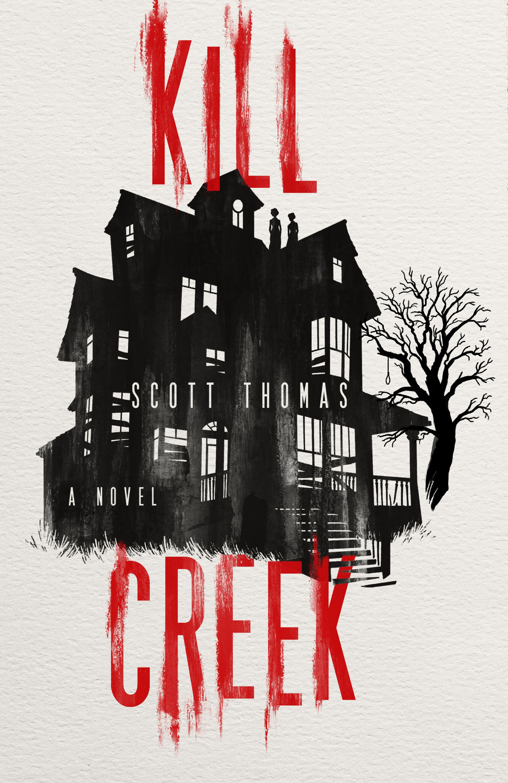 "Scott Thomas talking about his new horror novel ""KILL CREEK"""