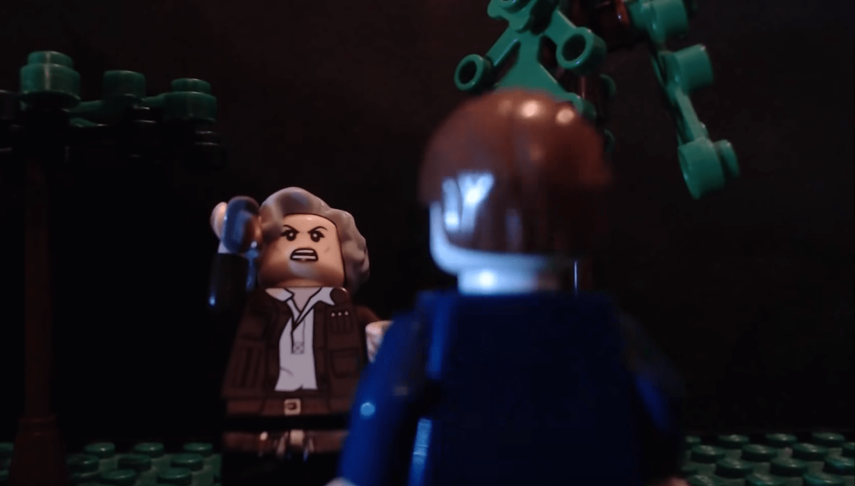 Trailer of Halloween entirely in LEGO