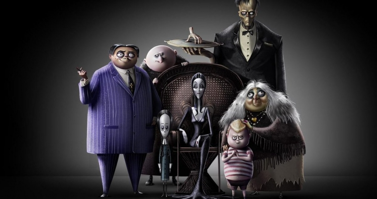 Animated 'Addams Family' Voice Cast Announced; Charlize Theron as  Morticia